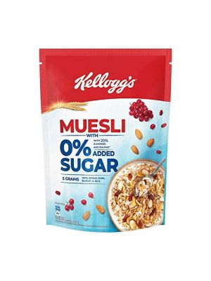 Kelloggs Muesli With 0% Added Sugar 500 Pouch