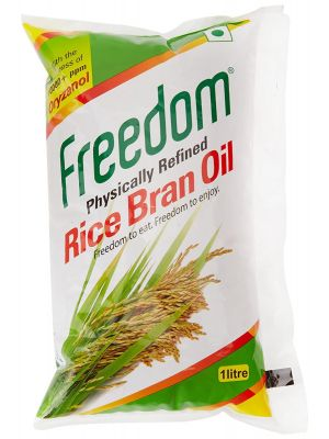 Freedom Rice Bran 1 Ltr Pouch