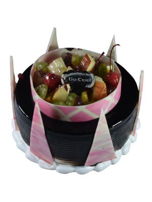 CAKES-PARTY CAKE-CHOCO FRUIT-GC114