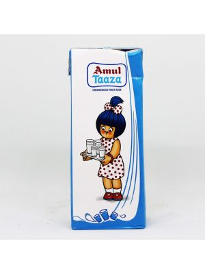Amul Taaza Fresh Toned Milk 200 ml