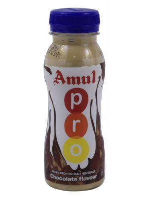 Amul Pro Drink Chokolate Flavour 250ml Bottle