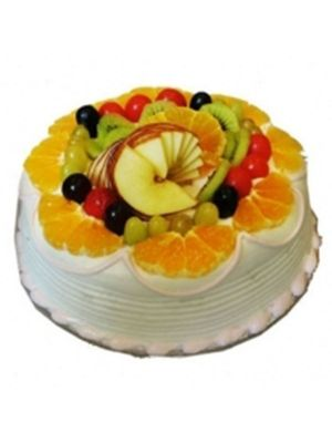 Yummy Fresh Fruit Cake