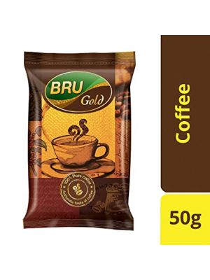 Bru Instant Coffee - Gold 50 gm Pouch