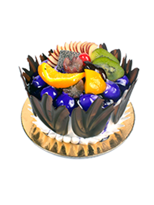 CAKES-FLOWER AND PARTY CAKE-COMBO -CB105