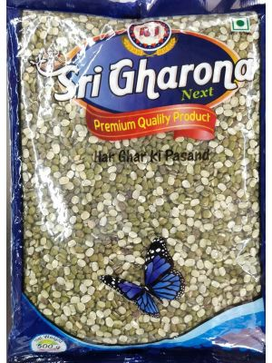 Raj Gharona - Moong Chilka Dal 500gm Pouch